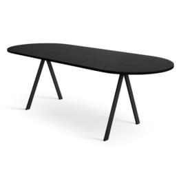 FRIENDS & FOUNDERS SAW ROUNDED TABLE WOOD