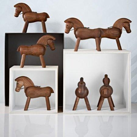 KAY BOJESEN DESIGN KAY BOJESEN HORSE WALNUT