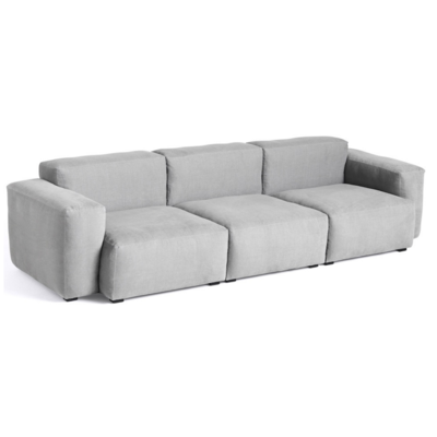 HAY MAGS 3 SEATER SOFA  SOFT LOW ARMREST