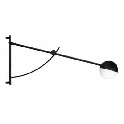 NORHERN Balancer uitschuifbare wandlamp 102/130/158 cm.