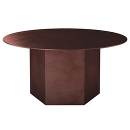 GUBI Epic steel coffee table Ø80