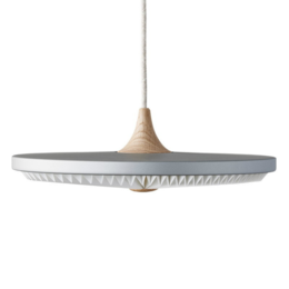 LE KLINT Soleil Silver Cloud hanglamp Ø50