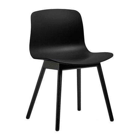 HAY  AAC 12  CHAIR - BLACK LACQUERED
