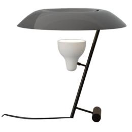 ASTEP MODEL 548  TABLE LAMP DARK BRASS - GREY