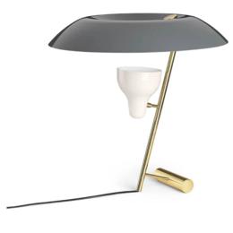 ASTEP MODEL 548  TABLE LAMP BRASS - GREY