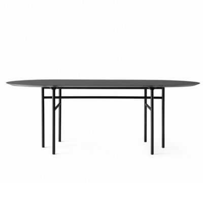 MENU SNAREGADE TABLE OVAL - 210 CM.