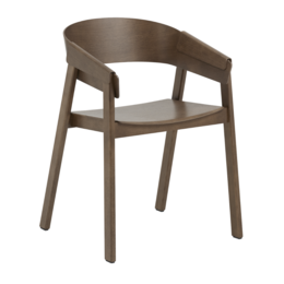 MUUTO COVER ARMCHAIR - DARK STAINED BROWN