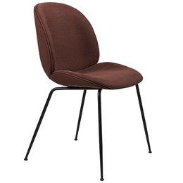 GUBI Beetle chair upholstered Hot Madison  - base black