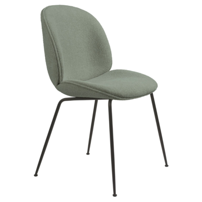 GUBI BEETLE CHAIR  UPH. GUBI BOUCLE 012 - CONIC BASE