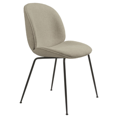 GUBI BEETLE CHAIR  UPH. GUBI BOUCLE 008  - CONIC BASE