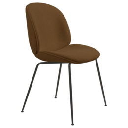GUBI Beetle chair boucle 006 amber - base conic