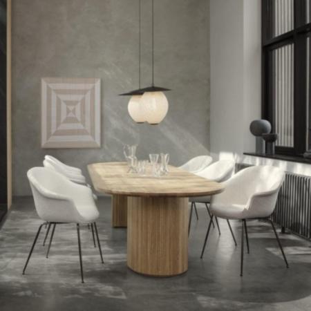 GUBI MOON SIDE TABLE Ø60
