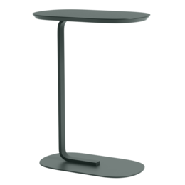 MUUTO RELATE SIDE TABLE - DARK GREEN