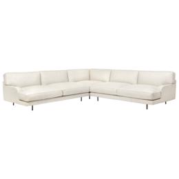 GUBI Flaneur corner sofa 2 x 300 - black base