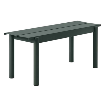 MUUTO Linear Steel bench 110 cm.