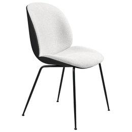 GUBI Beetle chair black - front boucle 001