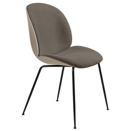 GUBI Beetle Chair new beige - front uph.