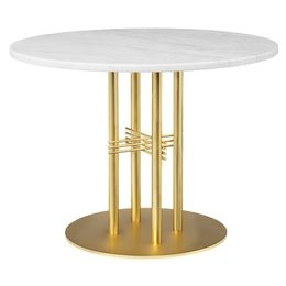 GUBI TS COLUMN TABLE MARBLE - 80