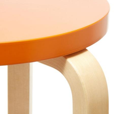 ARTEK Kruk E60 Berken-Oranje
