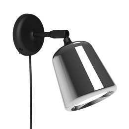 NEW WORKS MATERIAL WALL LAMP - STAINLESS STEEL