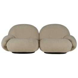 GUBI Pacha 2 Seater W.Armrest