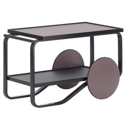 ARTEK Tea Trolley 901 Black Birch - Charcoal