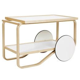 ARTEK Tea Trolley 901 Birch - White