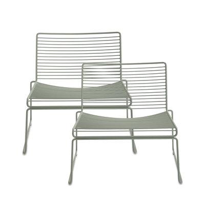 HAY Hee Lounge Chair Set of 2 Green