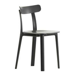 VITRA All Plastic Chair - Graphite Grijs