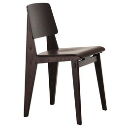 VITRA CHAISE TOUT BOIS CHAIR - DARK STAINED OAK