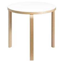 ARTEK Aalto Table 90B Birch / White