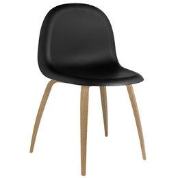 GUBI 5 Chair Zwart / Eiken