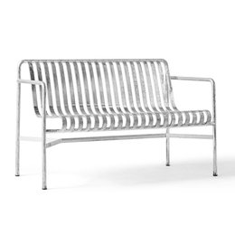 HAY PALISSADE DINING BENCH - HOT GALVANISHED