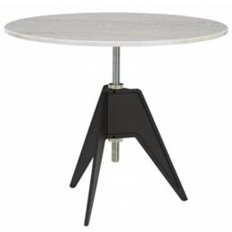 TOM DIXON SCREW  90 CM. TABLE - HEIGHT ADJUSTABLE