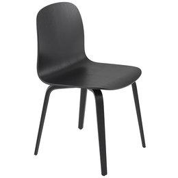 MUUTO Visu stoel wood - zwart
