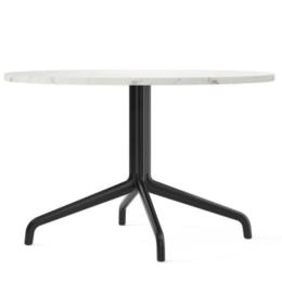 MENU HARBOUR COFFEE TABLE Ø80 MARBLE - BLACK