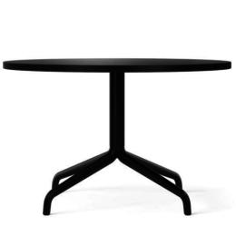 MENU HARBOUR COFFEE TABLE Ø80 BLACK OAK - STAR BASE
