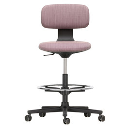 VITRA Rookie Office Chair High Aubergine