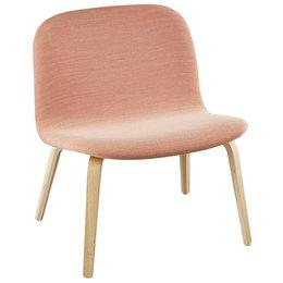 MUUTO Visu lounge stoel steelcut trio  515 - voet eiken