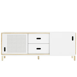 NORMANN COPENHAGEN Kabino Sideboard White -Drawers - 162 CM.