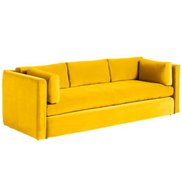 HAY Hackney 3 Zits Sofa Lola Geel
