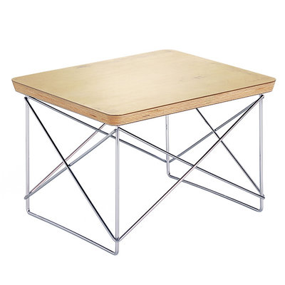 VITRA Occasional Table Ltr Gold Leaf - Chrome