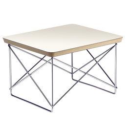 VITRA Occasional Table Ltr White - Chrome