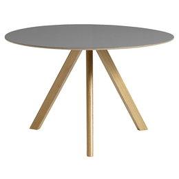 HAY CPH20 TABLE ROUND GREY LINO
