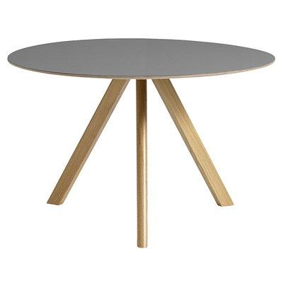 HAY Cph 20 Table Ø120  - Grey Lino/ Oak