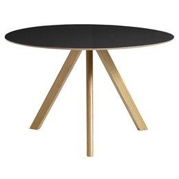 HAY Cph 20 Table Round Ø120 - Black Lino