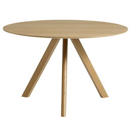 HAY Cph 20 Table Round Ø120 - Lacquered Oak