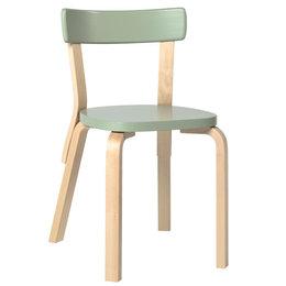 ARTEK Aalto Chair 69 Green - Birch