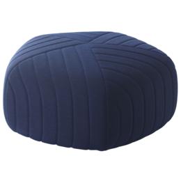 MUUTO Five poef large - donker blauw