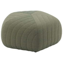 MUUTO Five pouf large - green